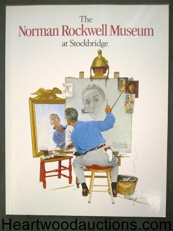 The Norman Rockwell Museum at Stockbridge by James B. Patrick (editor) (SOFTCOVER)- High Grade