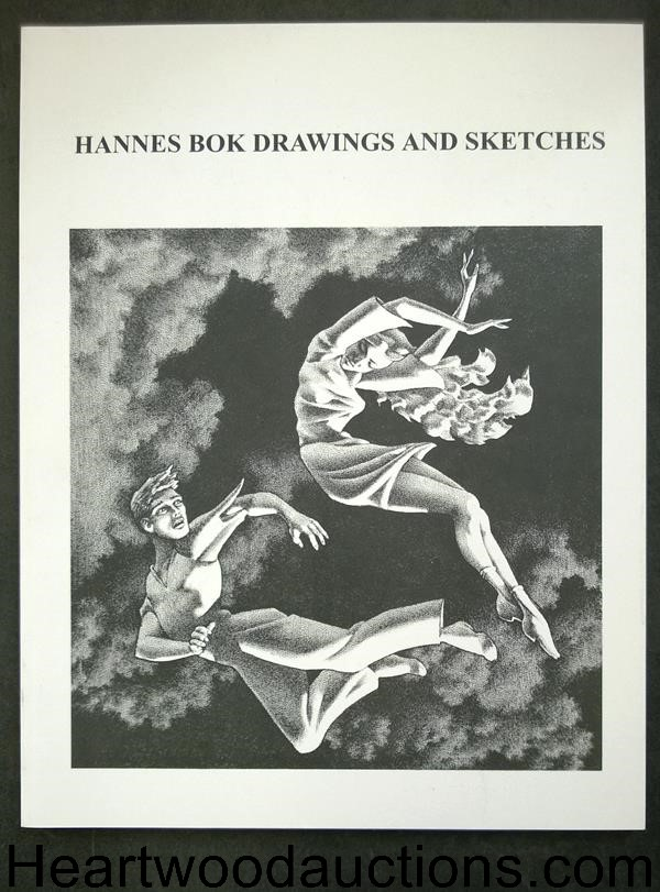 Hannes Bok: Drawings and Sketches by Nicholas J. Certo (editor) Ltd ed (SOFTCOVER)- High Grade