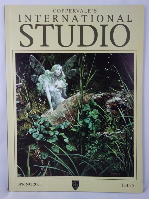 Coppervale's International Studio Spring 2003 by James A. Owen (editor) (SOFTCOVER)- High Grade