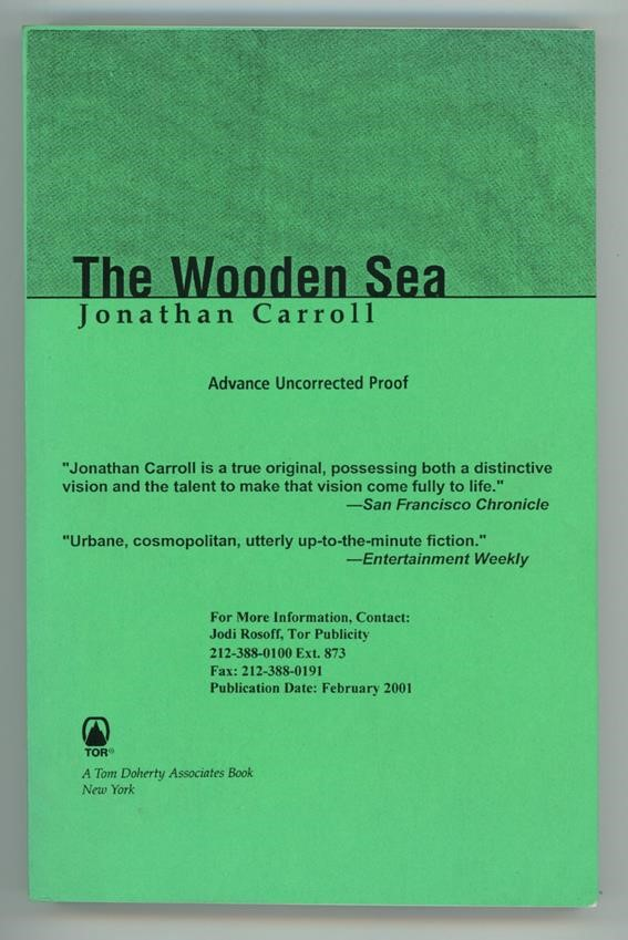 The Wooden Sea by Jonathan Carroll (Advance Proof)