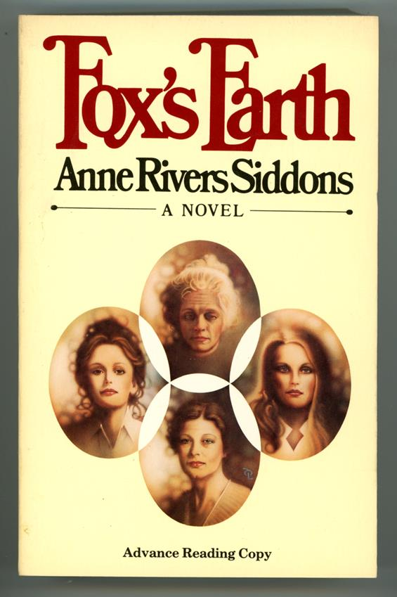 Fox's Earth by Anne Rivers Siddons (ARC) (SOFTCOVER)