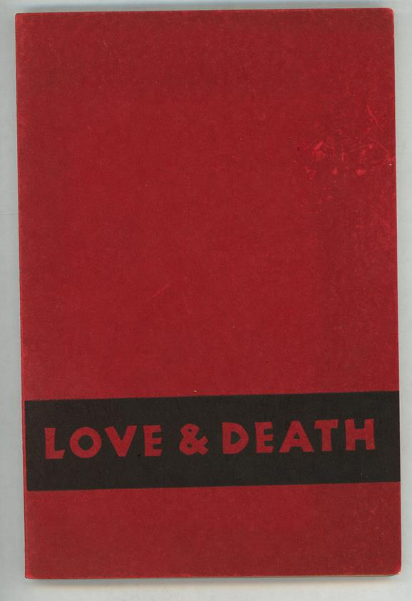 Love & Death: A Study in Censorship by Gershon Legman (1st Ed.) (SOFTCOVER)