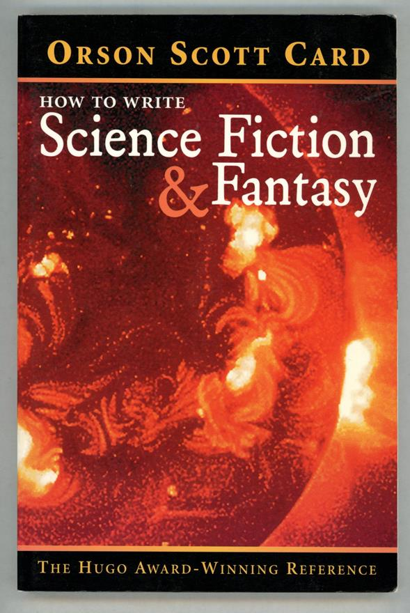 How to Write Science Fiction & Fantasy by Orson Scott Card (Signed)