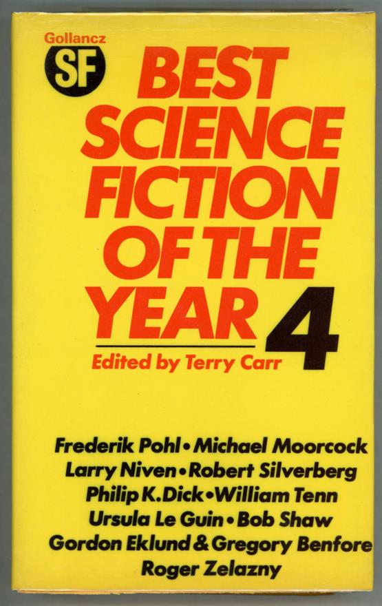 The Best Science Fiction of the Year 4 by Terry Carr (Signed)