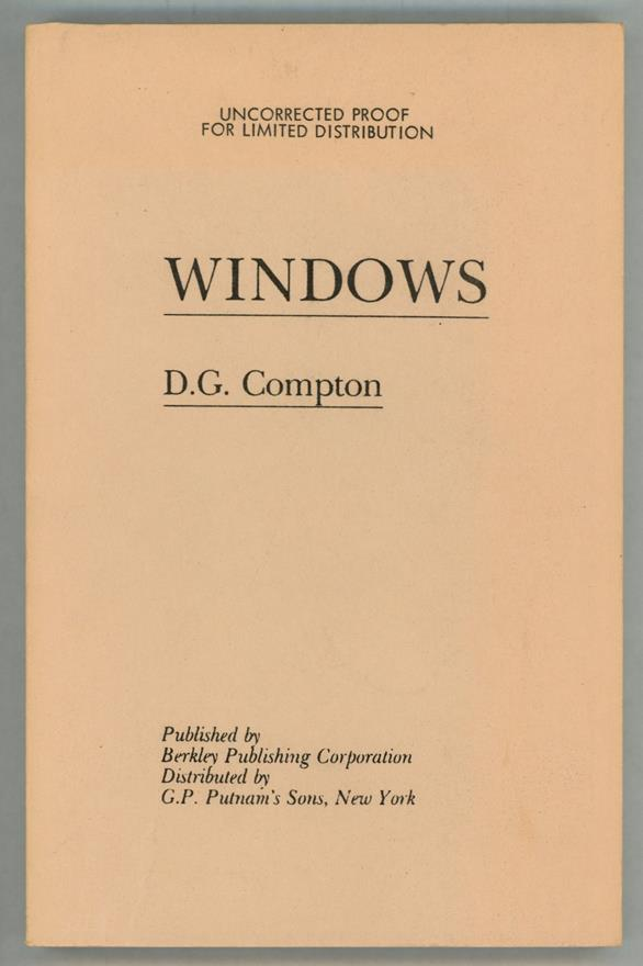 Windows by D.G. Compton (Uncorrected Proof)