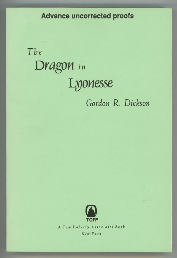 The Dragon in Lyonesse by Gordon R. Dickson (Advance Proof)