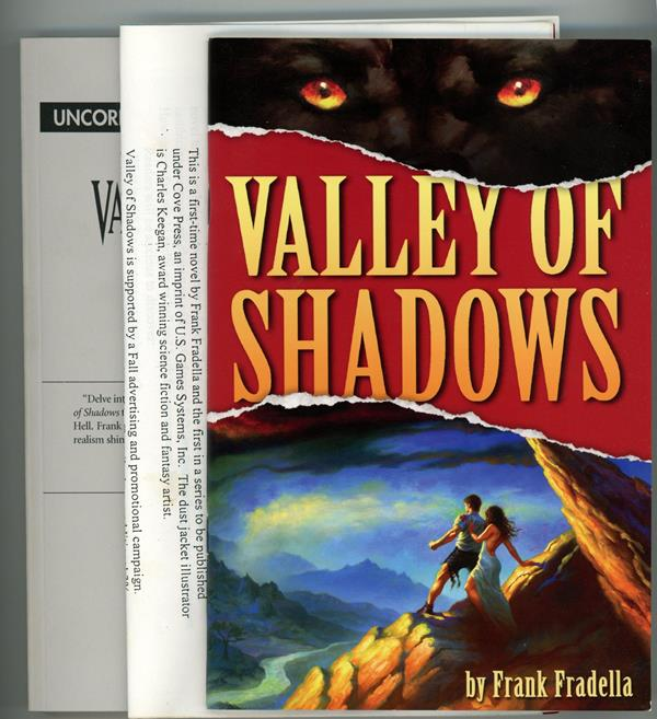 Valley of Shadows by Frank Fradella (Proof + ARC )- High Grade