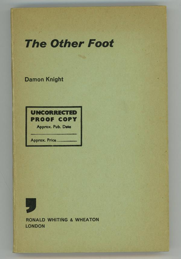 The Other Foot by Damon Knight (Signed, Proof)