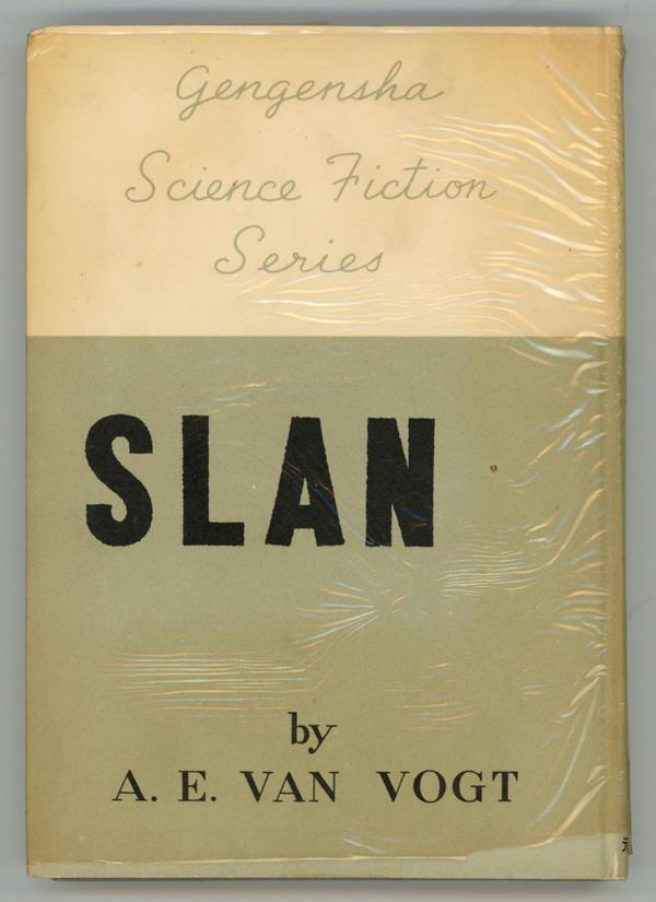Slan by A. E. Van Vogt (First Japanese Edition) (SOFTCOVER)