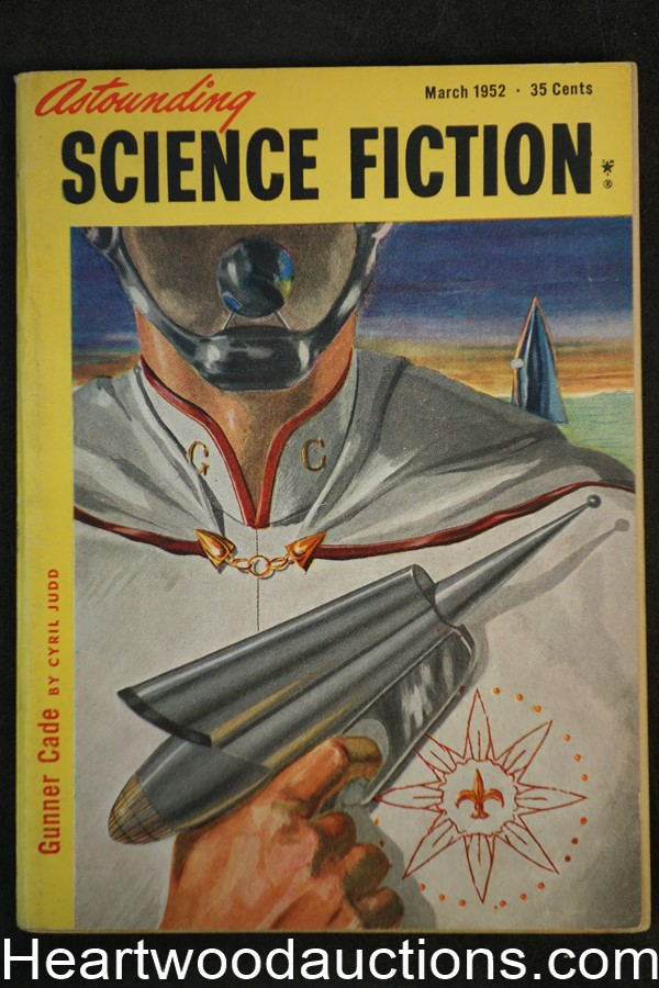 Astounding Science Fiction Mar 1952 Edd Cartier Art