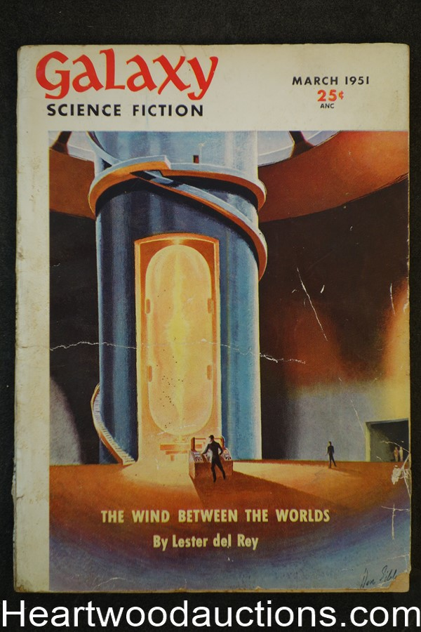 Galaxy Science Fiction Mar 1951 Asimov, Leinster, Simak, del Rey