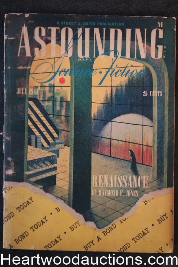 Astounding Science Fiction July 1944