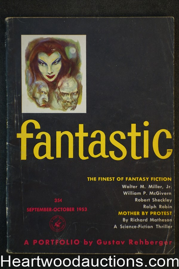 Fantastic Sep 1953 Richard Matheson