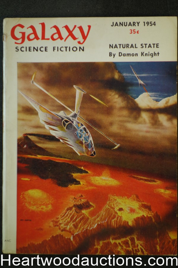Galaxy Science Fiction Jan 1954 Kurt Vonnegut, Damon Knight; Gordon R. Dickson