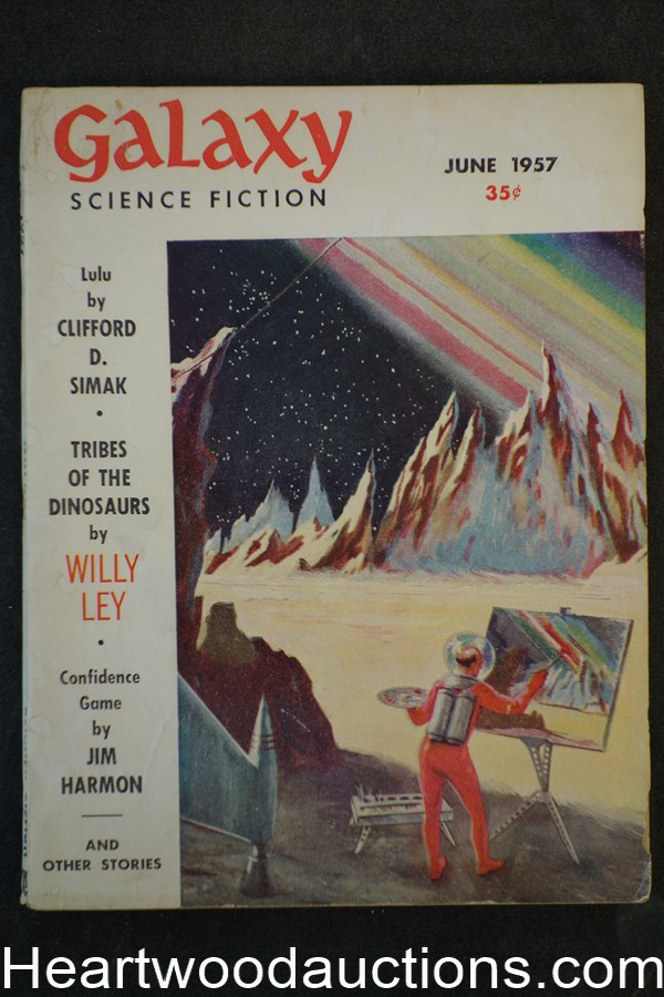 Galaxy Science Fiction Jun 1957 Clifford D. Simak