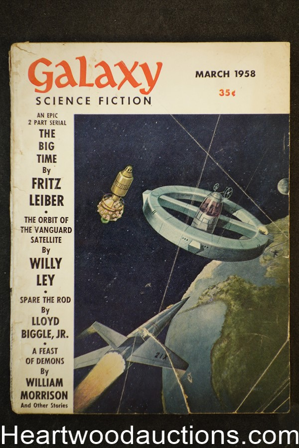 Galaxy Science Fiction Mar 1958 Fritz Leiber