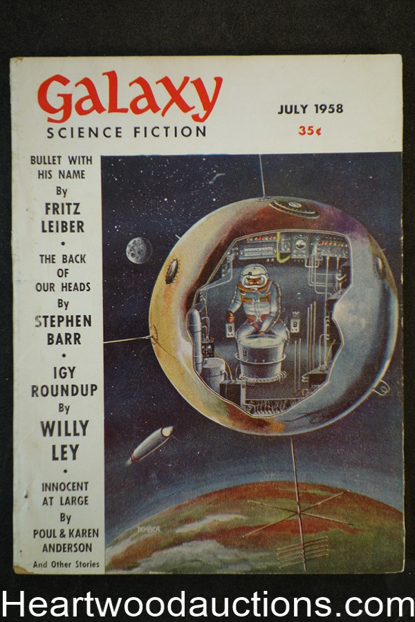 Galaxy Science Fiction Jul 1958 Freitz Leiber