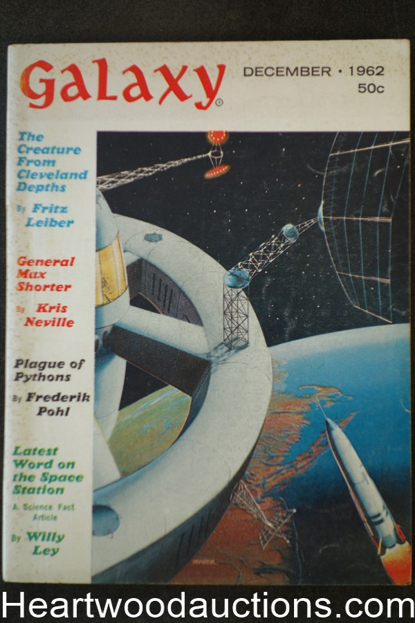 Galaxy Science Fiction Dec 1962 Frederik Pohl; Fritz Leiber