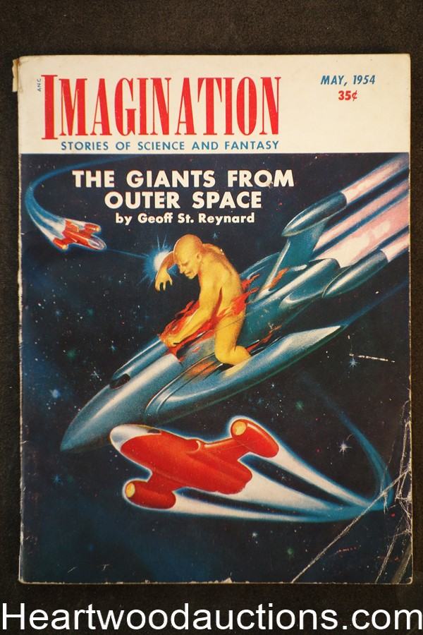 Imagination May 1954 H.W. McCauley Cvr