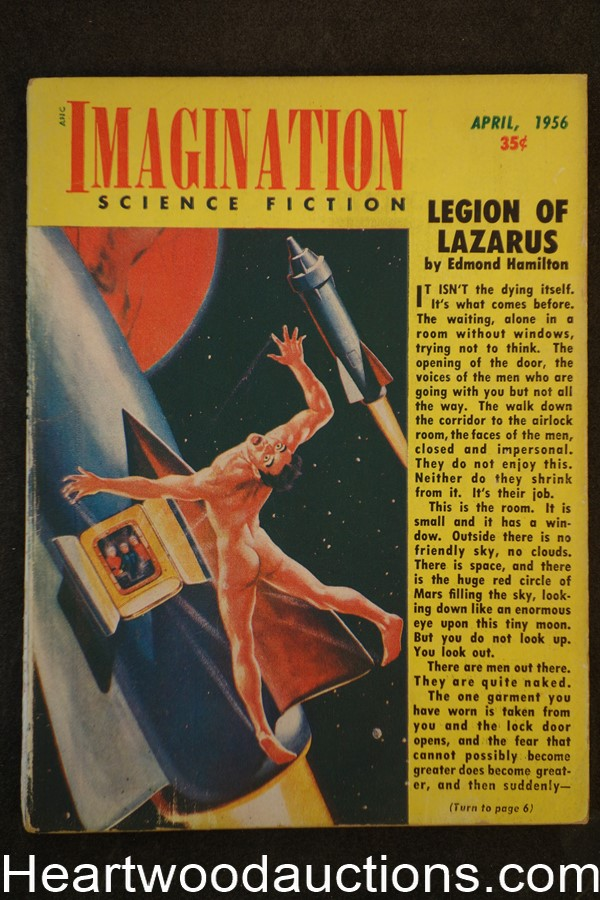 Imagination Apr 1956 Edmond Hamilton; Milton Lesser