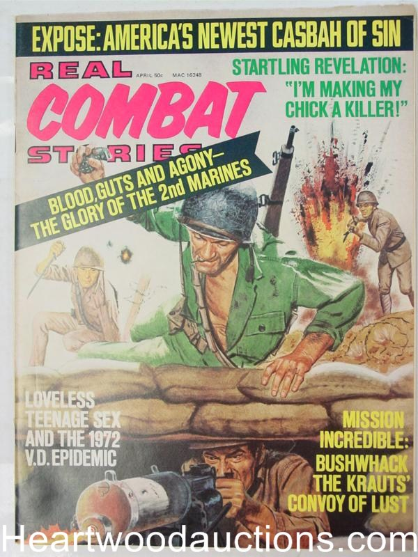 Real Combat Stories Apr 1972 Ultra Interior Bondage