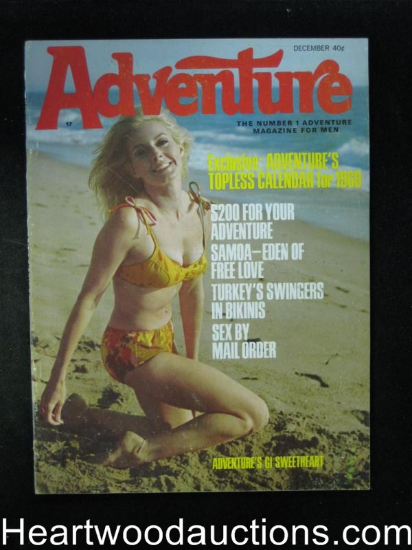 Adventure Dec 1968 Messalina,Basil Gogos