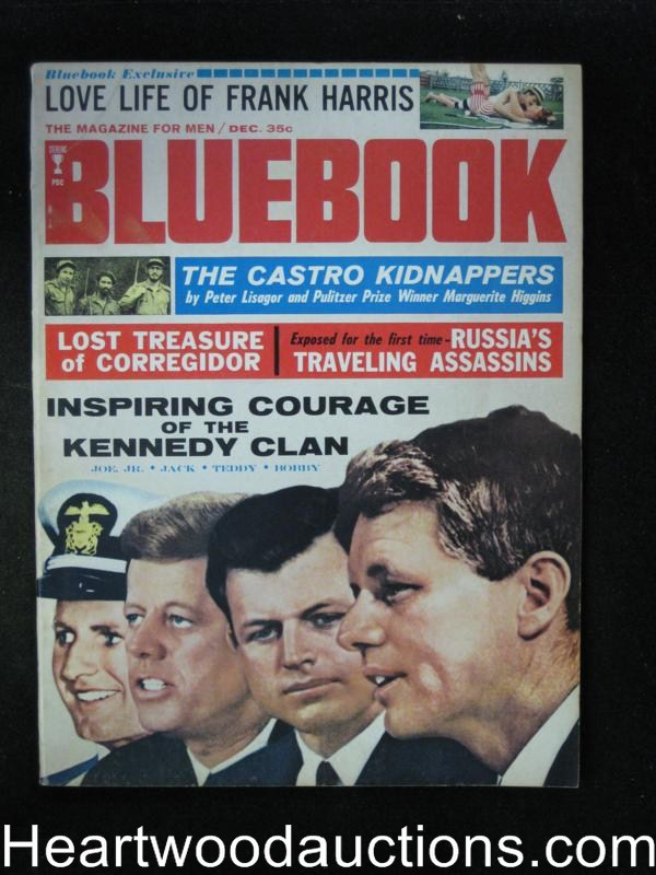 Blue Book Dec 1964 Kennedy Clan Cover