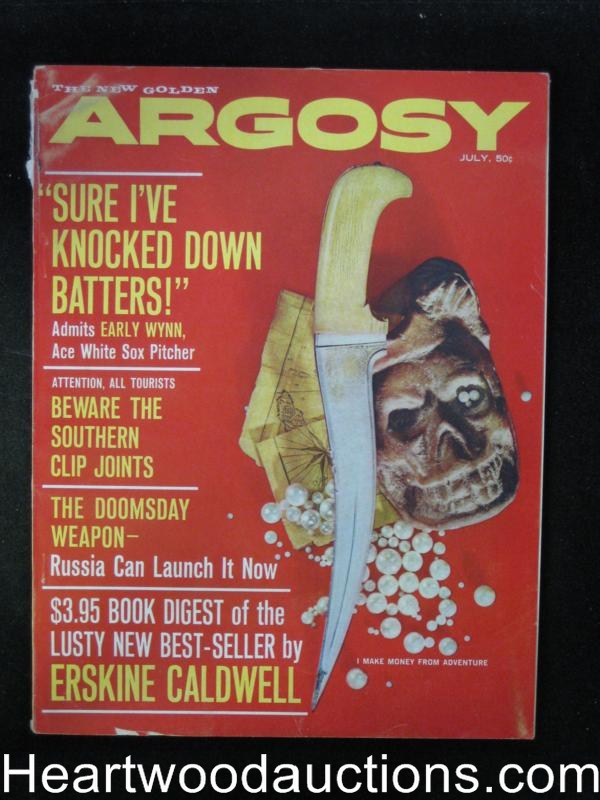 Argosy Jul 1961 Baseball/Early Wynn,Jackie Gleason