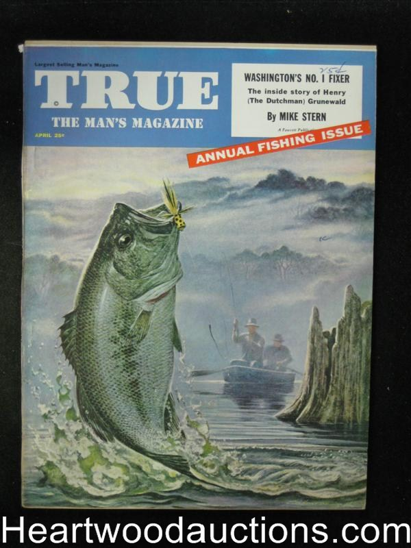 True Apr 1954 Annual Fishing Issue