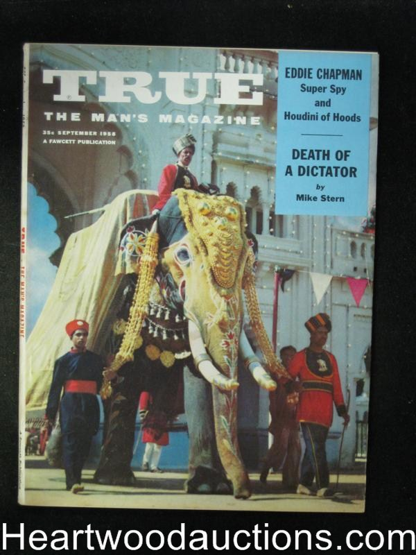 True Sep 1958 George Gross,Civil War