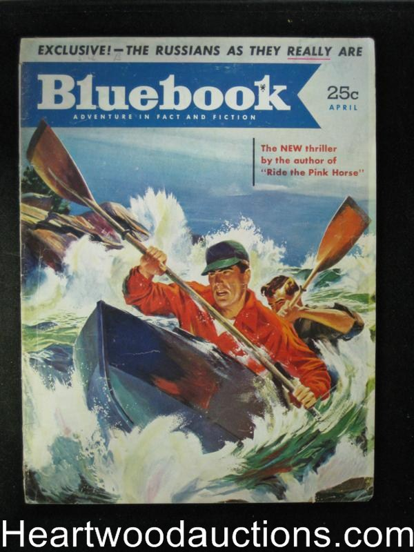 Blue Book Apr 1952 Dorothy B. Hughes Mystery