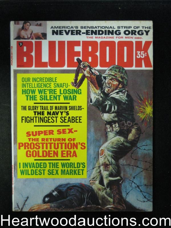 Blue Book Dec 1968 Wild Bayonette Cover