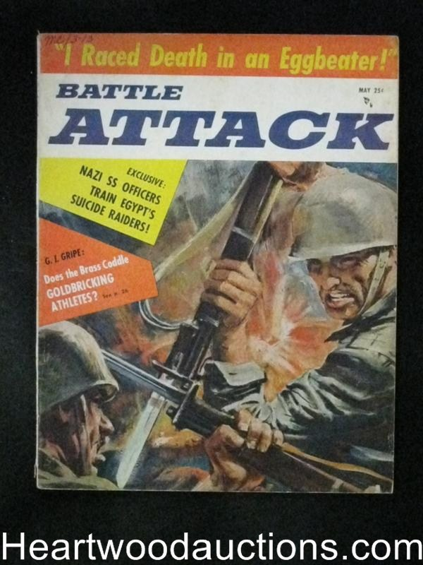 Battle Attack May 1957 Athletes Goldbricking inMilitary