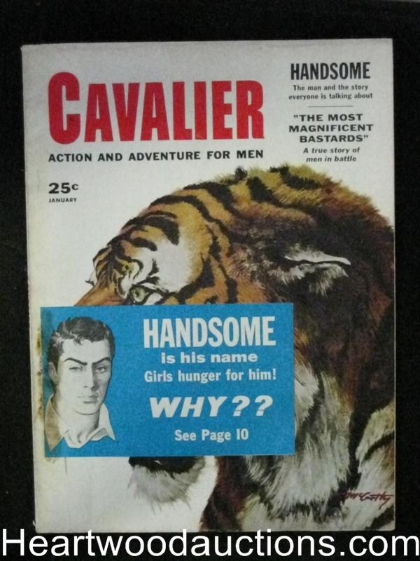 Cavalier Jan 1958 Early Extreme Fighting Article