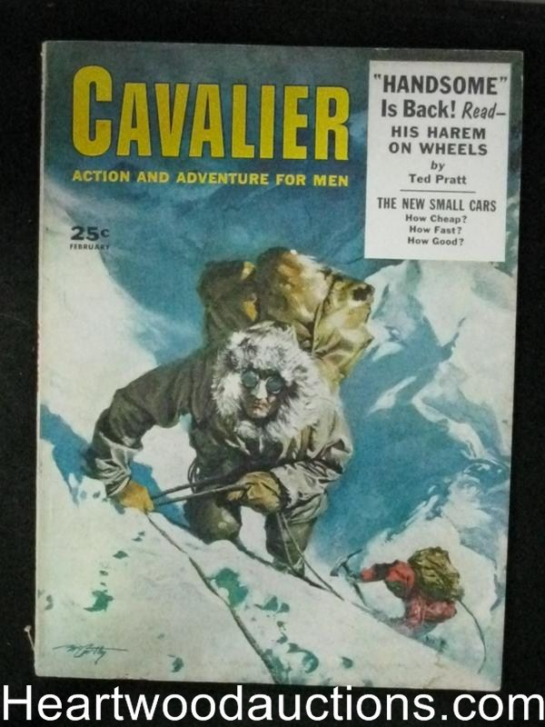 Cavalier Feb 1958 Tigers-Clyde Beatty