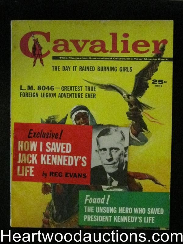 Cavalier Jun 1961 Anthony Boucher,JFK Rescue
