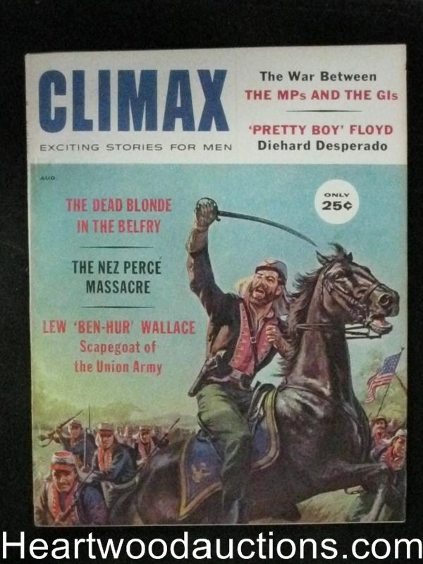 Climax Aug 1960 Pretty Boy Floyd/Saunders Cover