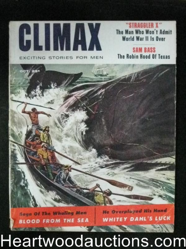 Climax Oct 1957 Baseball's Ted Williams