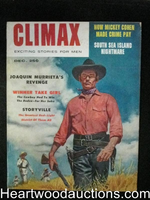 Climax Dec 1957 Red grange,Rita Moreno