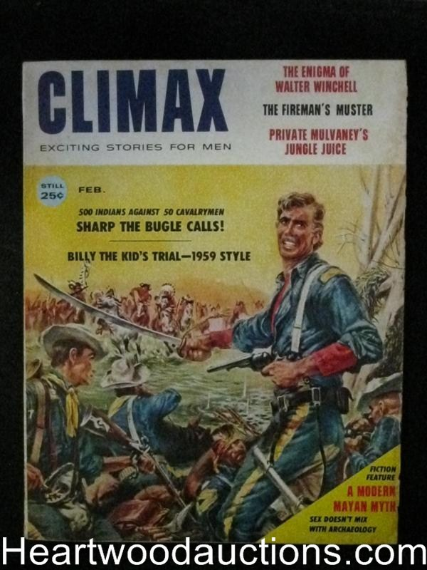 Climax Feb 1959 Cavalry vs Indian Cover