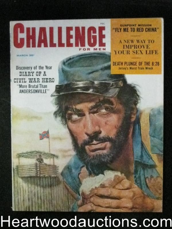 Challenge Mar 1959 Civil War Cover