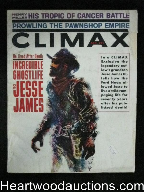 Climax Apr 1962 Jesse James Cover and Story