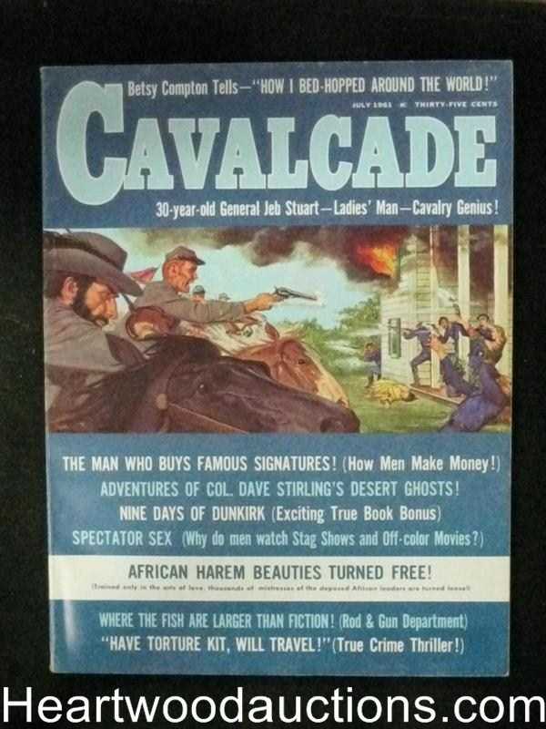 Cavalcade Jul 1961 George Gross Cover/Ted Mark