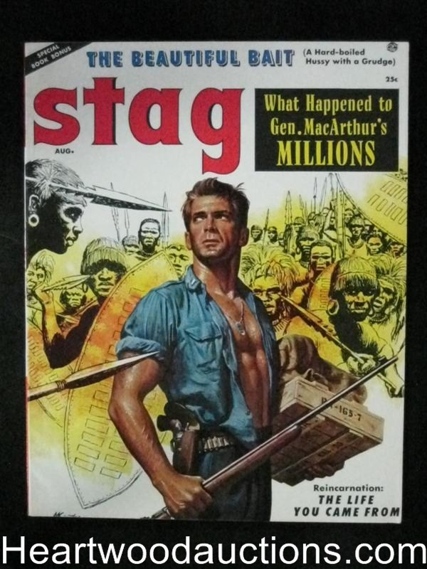 Stag Aug 1956 Kunstler Cover