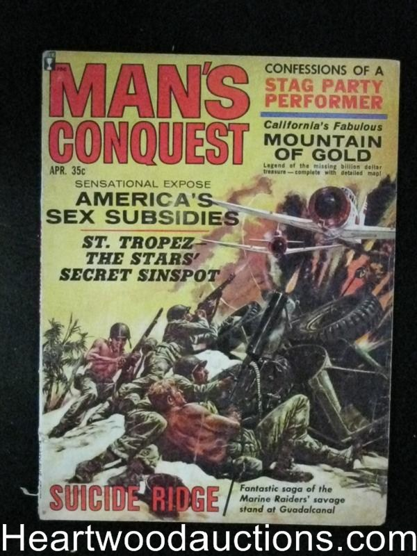 Man's Conquest Apr 1964 Terry Higgins, Saunders