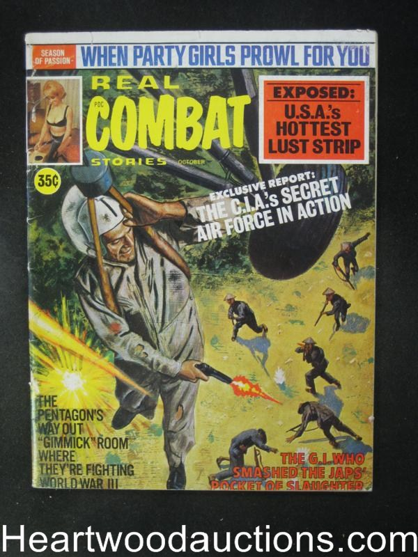 Real Combat Oct 1969 Reese Sleaze,Air America