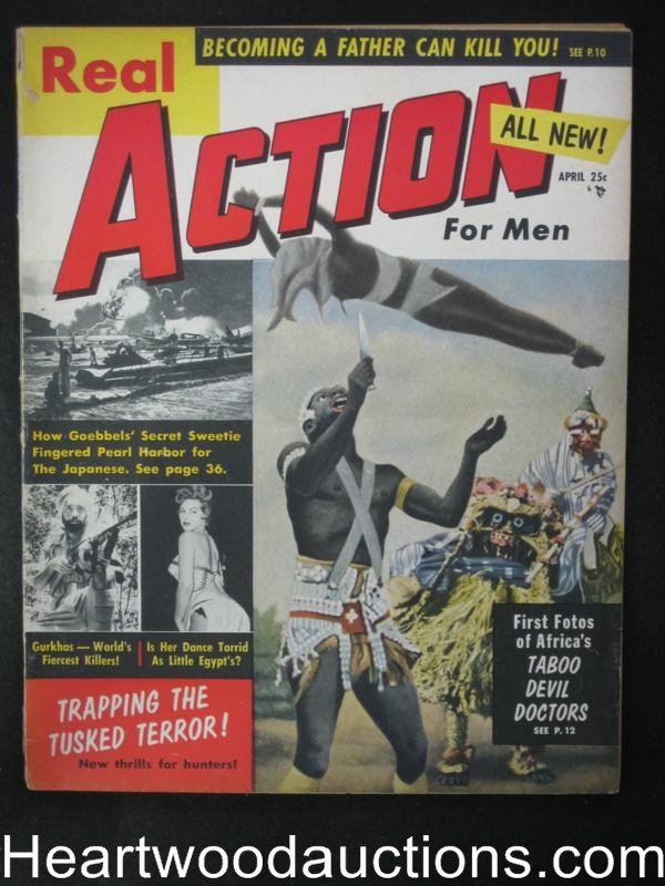 Real Action Apr 1957 #! Doc Holliday, Jean Lafitte