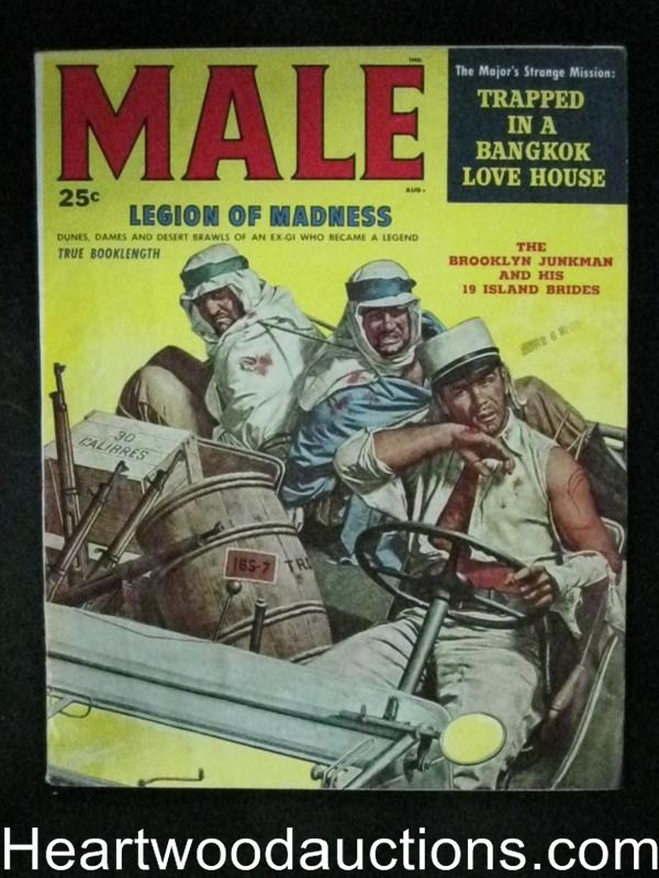 Male Aug 1958 French legion, Borack Cover, Robert Stanley, Copeland, Rossi