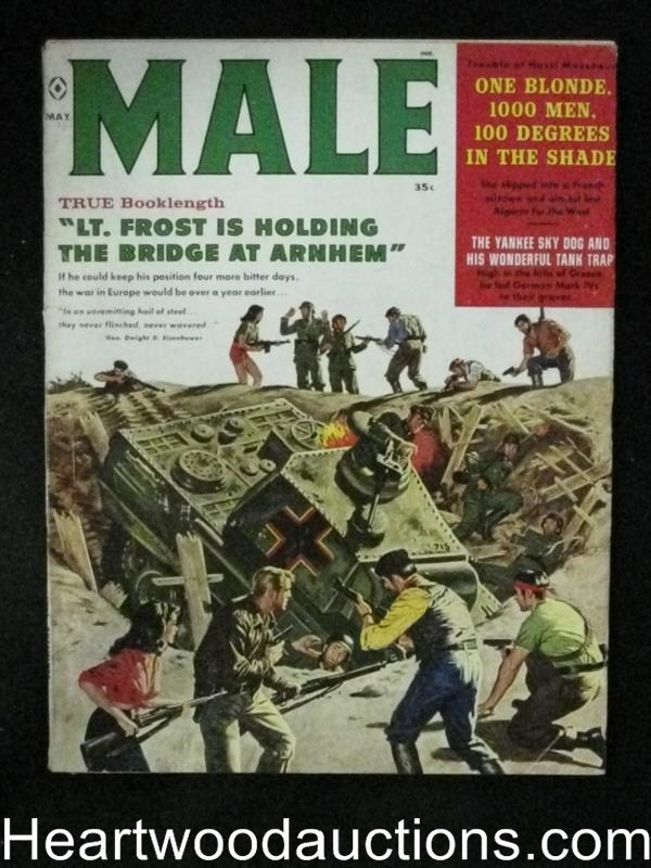 Male May 1960 James Bama Cover, Sigmund Freud