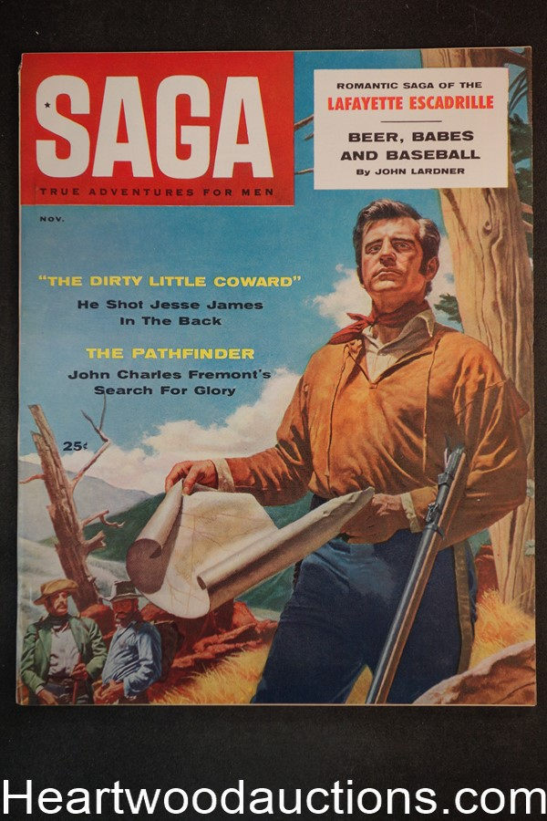 Saga Nov 1957 Motorcycle Gang Hell's Angels, Willie Moretti, Jesse James, Valigursky - Ultra High Grade- NAPA